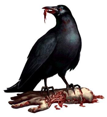 Itachi Crow Render
