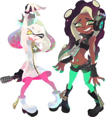 Splatoon Characters Tv Tropes