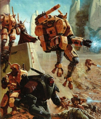 Warhammer 40000 T'au Empire / Characters - TV Tropes