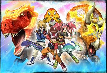 Dinosaur King Anime Tv Tropes