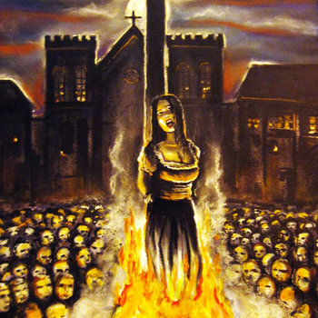 Woman Burned At The Stake