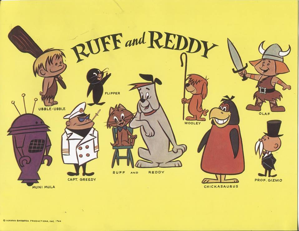The Ruff Amp Reddy Show Western Animation Tv Tropes