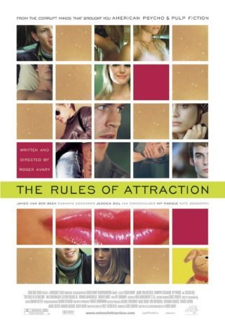 a literary analysis of the rules of attraction The rules of attraction comments rules of attraction is less a film than a queasy collection of vignettes that the film is ripe with literary and film.