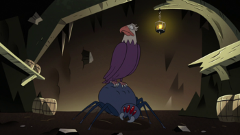 https://static.tvtropes.org/pmwiki/pub/images/s2e20_bald_eagle_and_giant_spider_looking_at_ludo.png