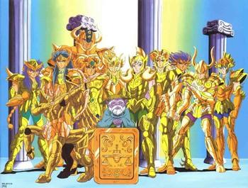 Saint Seiya Gold Saints / Characters - TV Tropes