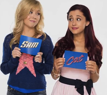 sam & cat the killer tuna jump freddie jade robbie