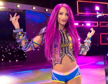 eee58a9a0 Sasha Banks (Wrestling) - TV Tropes