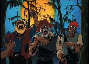 Scooby Doo On Zombie Island Nightmare Fuel Tv Tropes