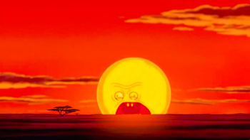 https://static.tvtropes.org/pmwiki/pub/images/screaming_sun_circle_of_life_lion_king.png
