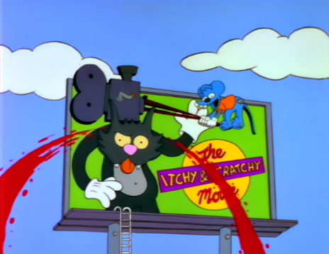 The Simpsons S4 E6 Itchy Scratchy The Movie Recap Tv Tropes