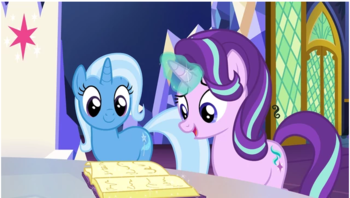 my little pony friendship is magic s7 e2 all bottled up recap tv tropes. Black Bedroom Furniture Sets. Home Design Ideas