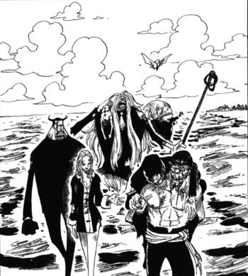 One Piece C P9s Independent Report / Recap - TV Tropes