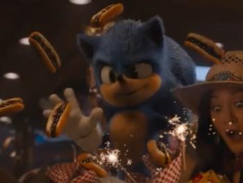 Sonic The Hedgehog 2020 Mythology Gag Tv Tropes