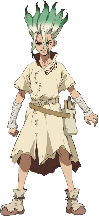 Dr Stone Characters Tv Tropes