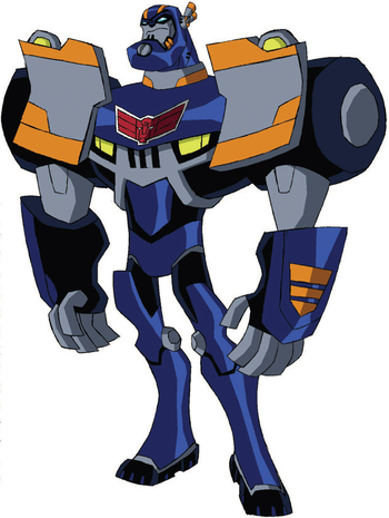 all transformers cartoon characters pictures and names