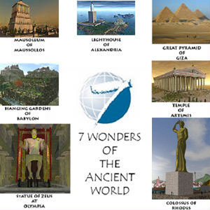 7 facts about the 7 Wonders of the World - World Archaeology  |7 Wonders Of The World 2012 With Name
