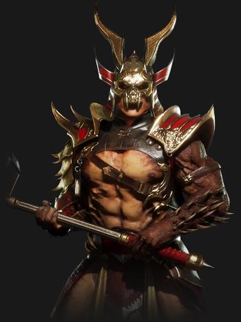 Mortal Kombat Shao Kahn Characters Tv Tropes