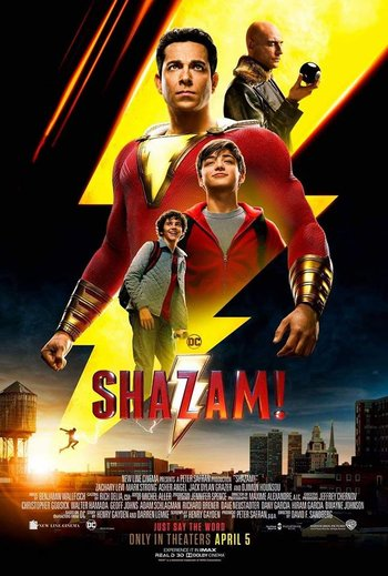Shazam! (2019) Hindi Dual Audio 480p HC HDRip X264 450MB