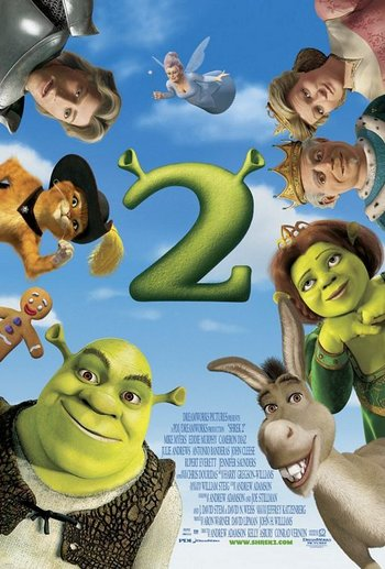Shrek 2 Western Animation Tv Tropes