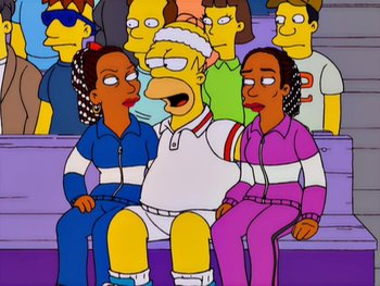The Simpsons S12 E12 Tennis The Menace Recap Tv Tropes