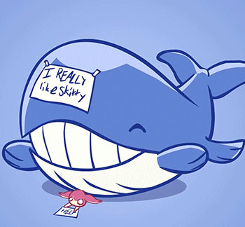I personally  Wailord And Skitty