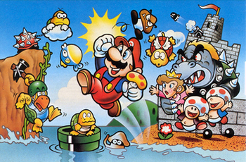 Super Mario Bros  (Video Game) - TV Tropes