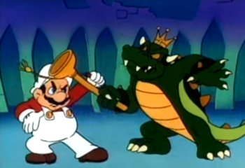 The Super Mario Bros Super Show Awesome Tv Tropes