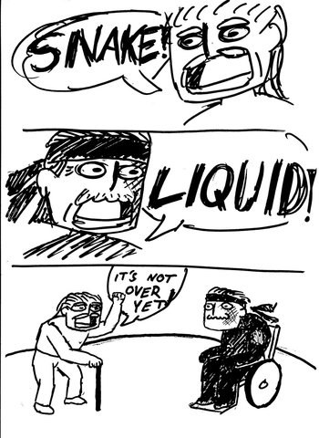 http://static.tvtropes.org/pmwiki/pub/images/solid_snake_vs__liquid_ocelot__the_real_fight_by_contendo64_d6g6ppi.jpg
