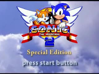 Sonic The Hedgehog 2 Special Edition Video Game Tv Tropes