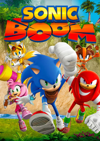Sonic Boom Western Animation Tv Tropes