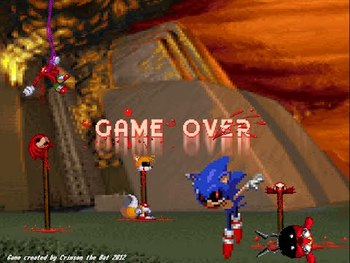 sonic exe spirits of hell round 2