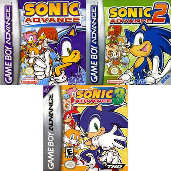 Sonic Advance Trilogy (Video Game) - TV Tropes