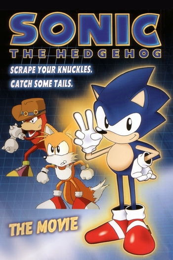 Sonic The Hedgehog The Movie Anime Tv Tropes