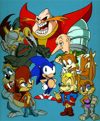 Image result for sonic satam freedom fighters