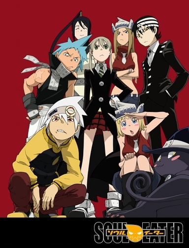 All the girls from soul eater naked