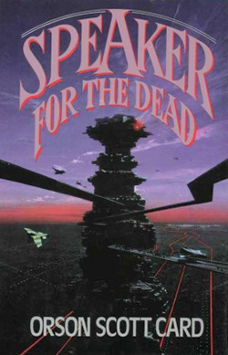 an analysis of the sequel of enders game called speaker for the dead Speaker for the dead, the sequel to ender's game, is a very different book  a  race of relatively low-technology aliens known as piggies.