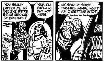 Consider, Comic book strip opinion