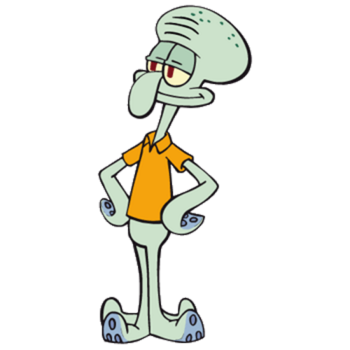 Squidward Tentacles / Self Demonstrating - TV Tropes