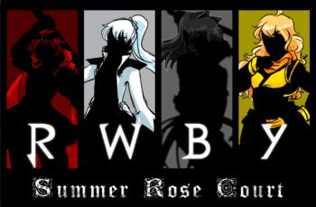 Visual Novel Summer Rose Court