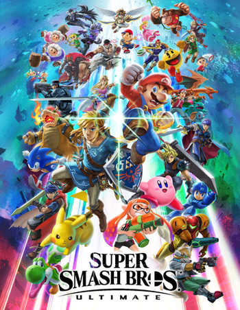 Super Smash Bros Ultimate Video Game Tv Tropes