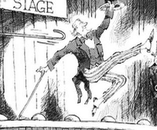 Image result for images hook off stage