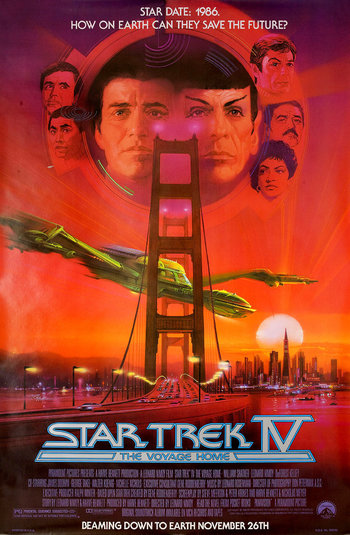 Star Trek IV: The Voyage Home (Film) - TV Tropes