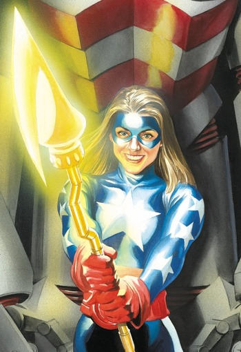 Stargirl Dc Comics Comic Book Tv Tropes