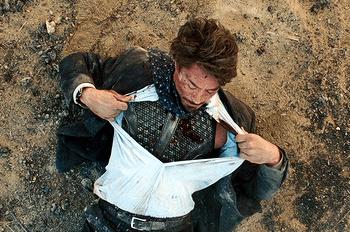 Bulletproof vest tv tropes for Best shirt to wear under ballistic vest