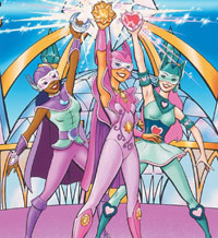 Princess Gwenevere and the Jewel Riders movie