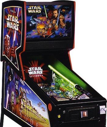 Star Wars Pinball Machine >> Star Wars Episode I (Pinball) - TV Tropes