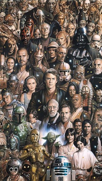 Star Wars / Characters - TV Tropes