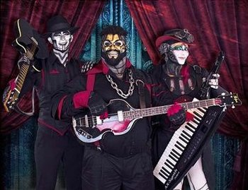 Steam Powered Giraffe (Music) - TV Tropes