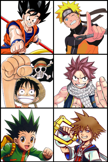 https://static.tvtropes.org/pmwiki/pub/images/stock_shonen_hero_collage.png