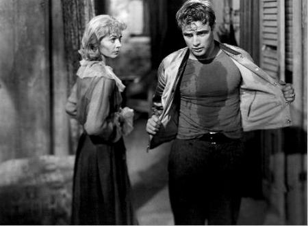 Blanche disapproves of Stanley s manly shirt sweat Streetcar Named Desire Blanche And Mitch